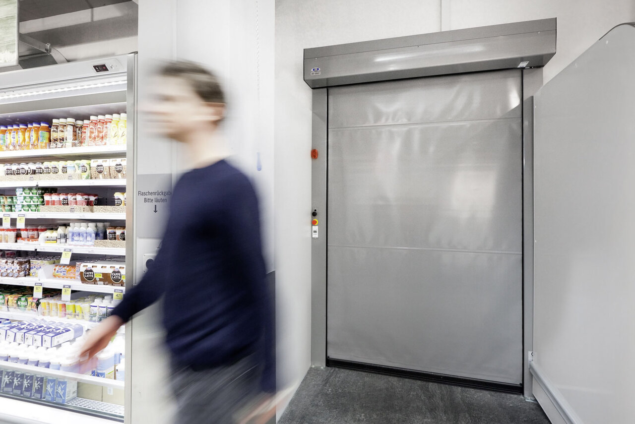 Kitchen Roller Shutter Door Rapid Opening Shutter Or Roller Door For Businesses